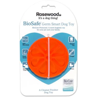 Rosewood Biosafe Germ Smart Dog Toy - Orange